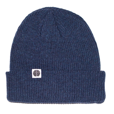 Behind The Pines Behind The Pines Essential Merino Beanie Navy