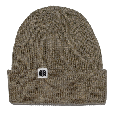Behind The Pines Behind The Pines Essential Merino Beanie Olive