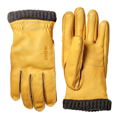 Hestra Hestra Deerskin Primaloft Rib Natural Yellow