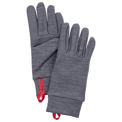 Hestra Hestra Touch Point Warmth 5 Finger Grey