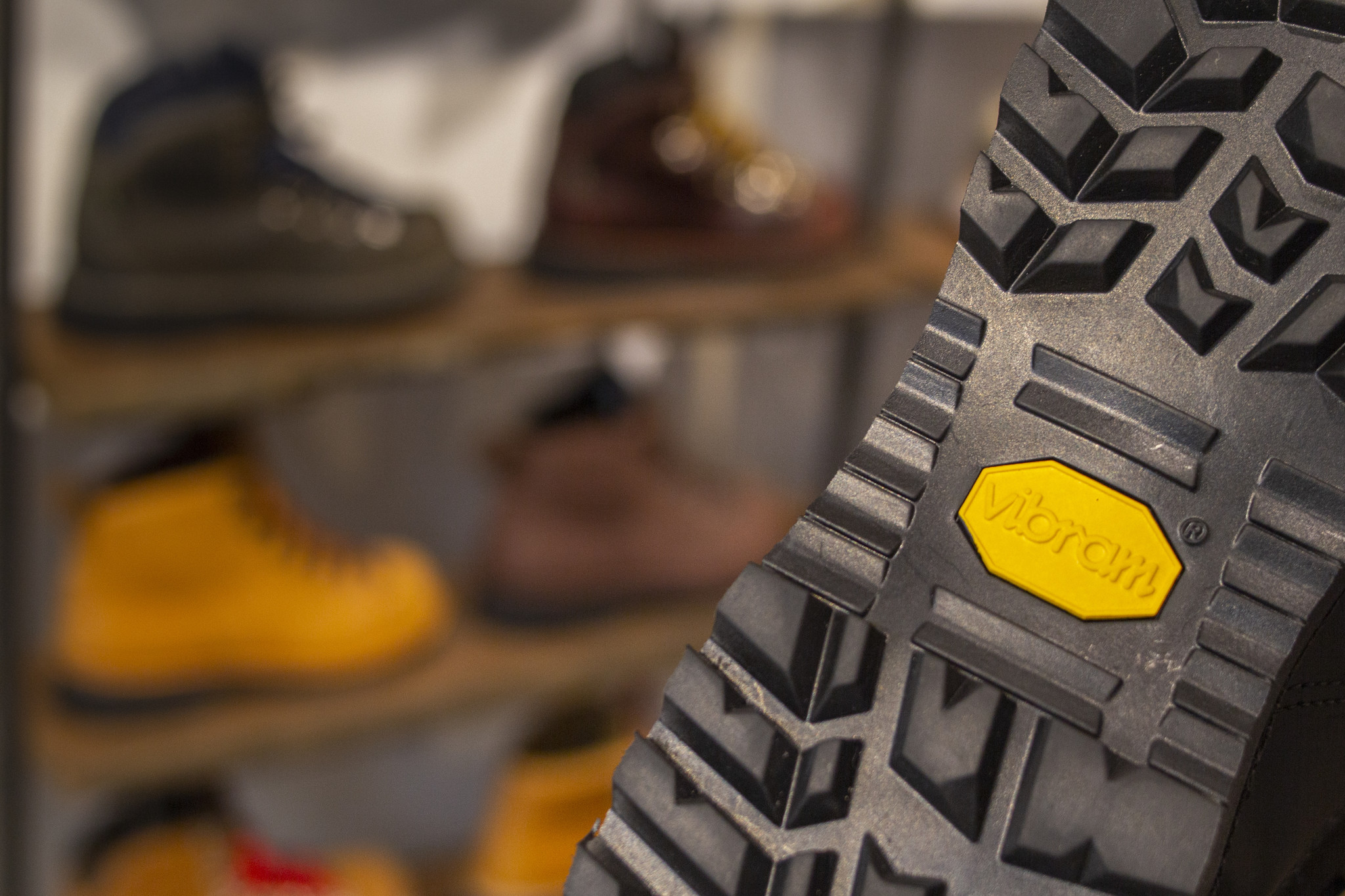 Vibram shoesole: Ideal for upcoming winter!