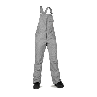 Volcom Volcom Swift Bib Overall Heather Grey