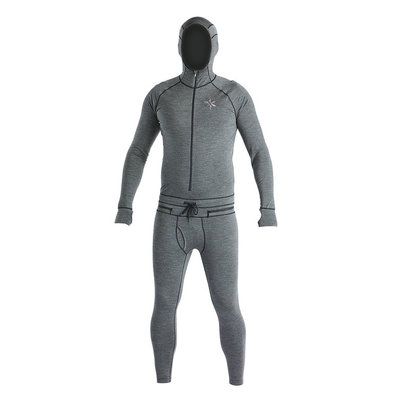 Airblaster Airblaster Men's Merino Ninja Suit Natural Black