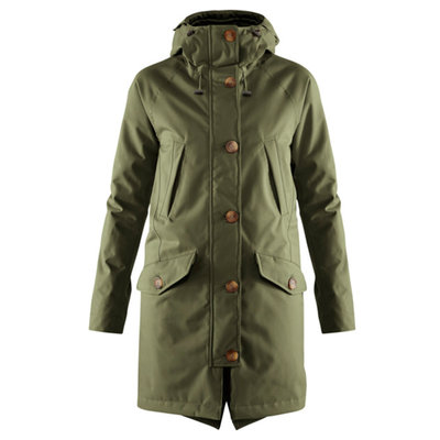 Fjallraven Fjallraven Kiruna Lite Parka Womens Laurel Green