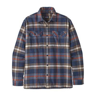 Patagonia Patagonia M's Longsleeve Fjord Flannel shirt Defender New Navy