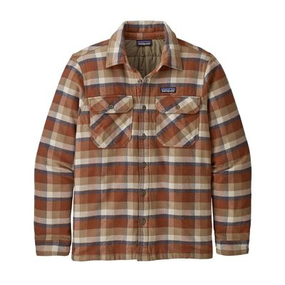Patagonia Patagonia M's Insulated Fjord Flannel Jacket Observer Mojave Khaki