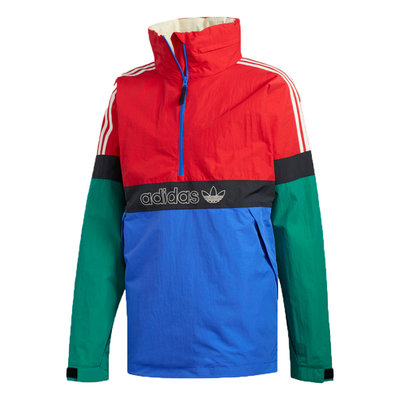 adidas adidas Snowbreaker Jacket Bold Green / Power Red / Hi-Res Blue / Carbon
