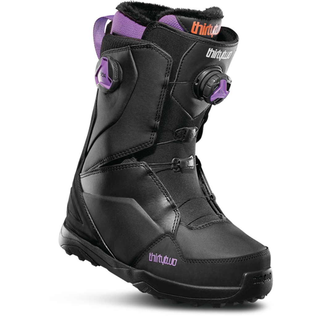 Thirtytwo Thirtytwo Womens Lashed Double BOA Black/Purple 2020