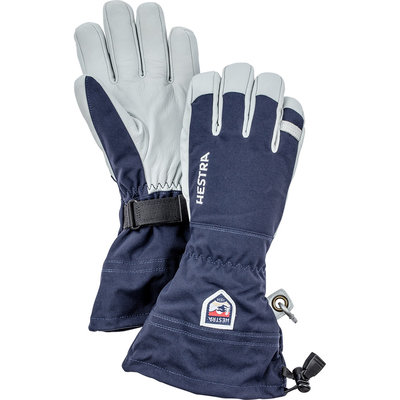 Hestra Hestra Army Leather Heli-Ski 5 Finger Glove Navy