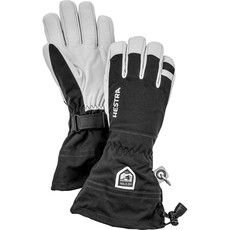 Hestra Hestra Army Leather Heli-Ski 5 Finger Glove Black
