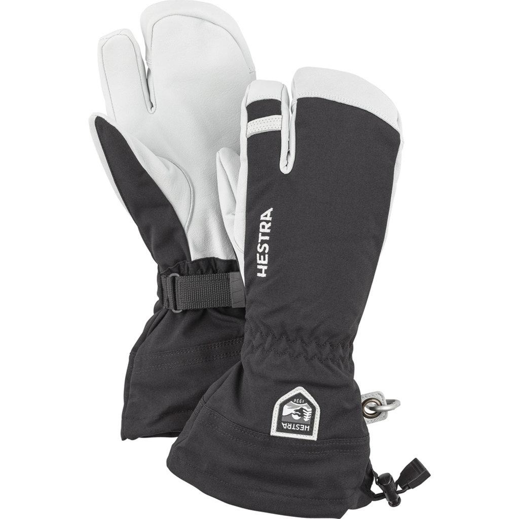 Hestra Hestra Army Leather Heli-Ski 3 Finger Glove Black