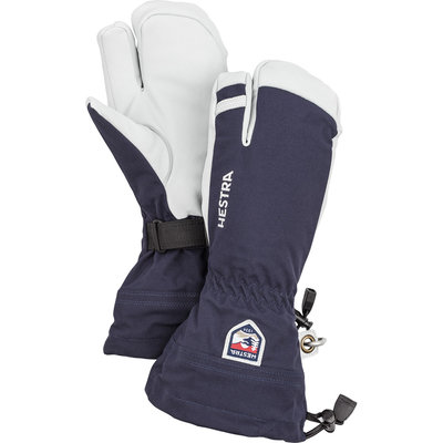 Hestra Hestra Army Leather Heli-Ski 3 Finger Glove Navy