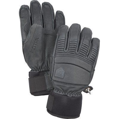Hestra Hestra Leather Fall Line 5 Finger Glove Grey