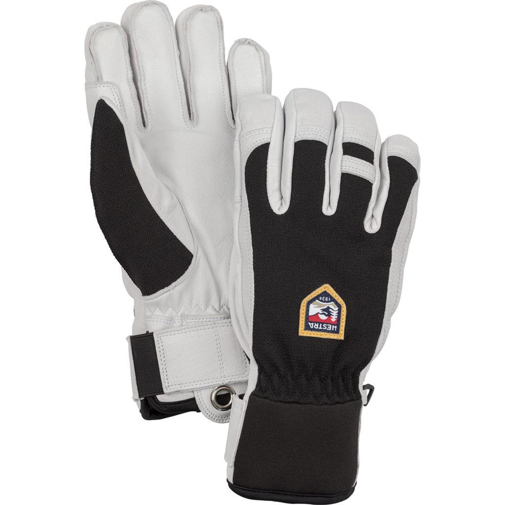 Hestra Hestra Army Leather Patrol 5 Finger Glove Black