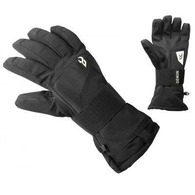 Demon Demon Protection Cinch Wristguard Glove Black