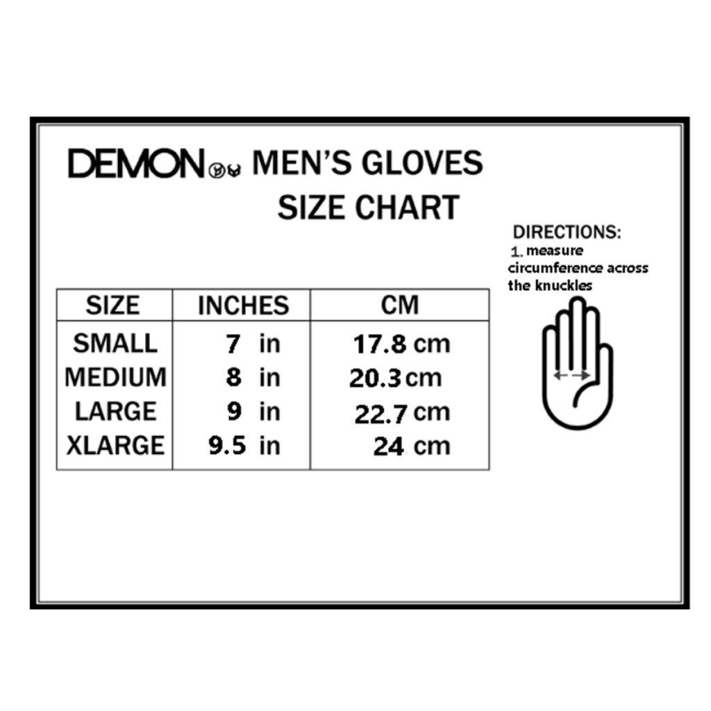 Demon Protection Demon Protection Cinch Wristguard Glove Black