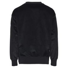 KnowledgeCotton Apparel Knowledge Cotton Apparel Oversized Corduroy Sweatshirt Total Eclipse