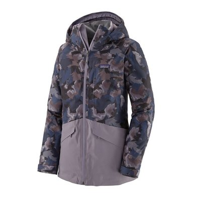 Patagonia Patagonia W's Insulated Snowbelle Jacket Maple Camo Smokey Violet