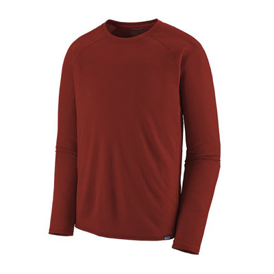 Patagonia Patagonia M's Capilene Midweight Crew Oxide Red
