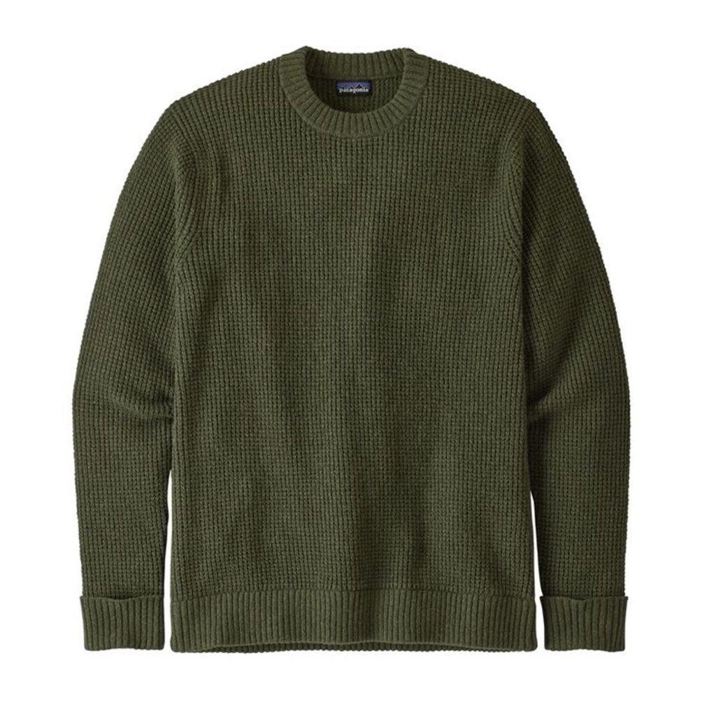 Patagonia Patagonia M's Recycled Wool Sweater Alder Green