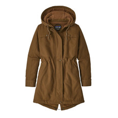 Patagonia Patagonia W's Insulated Prairie Dawn Parka Owl Brown