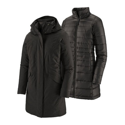 Patagonia Patagonia W's Vosque 3 in 1 Parka Black