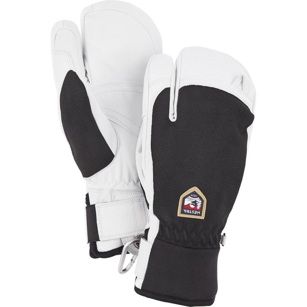 Hestra Hestra Army Leather Patrol 3 Finger Glove Black
