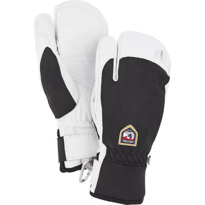 Hestra Hestra Army Leather Patrol 3 Finger Glove Black