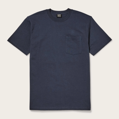 Filson Filson Outfitter Solid One Pocket T-Shirt Dark Navy