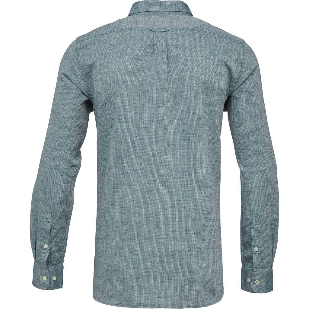 Knowledge Cotton Apparel Knowledge Cotton Apparel Larch LS Linen Shirt Baybarry