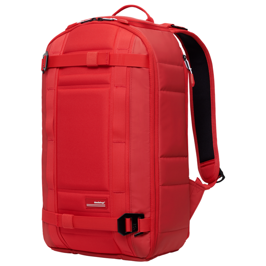 Douchebags Douchebags The Backpack Scarlet Red Leather