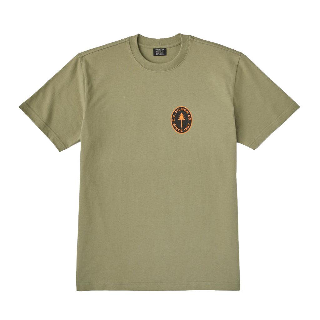 Filson Filson S/S Outfitter Graphic T-Shirt Burnt Olive