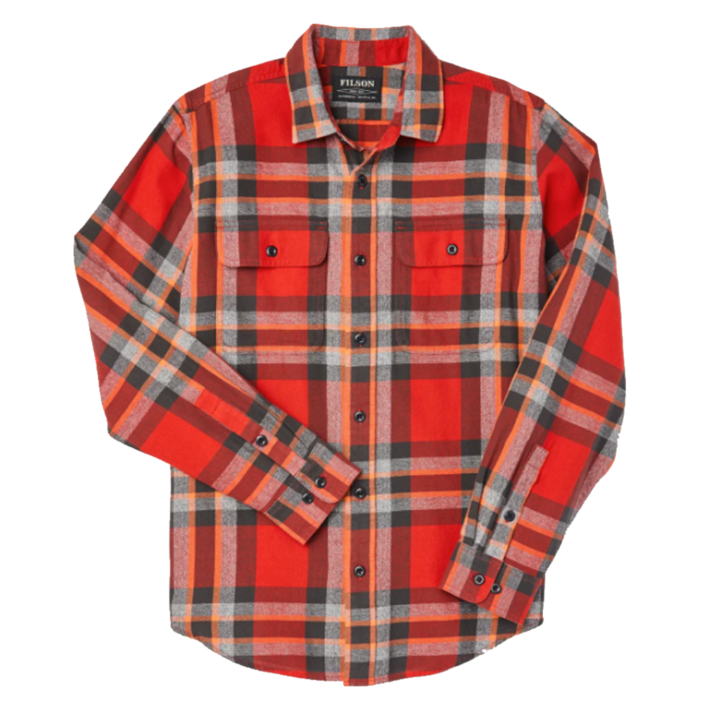 Filson Filson Scout Shirt Red / Black / Flame