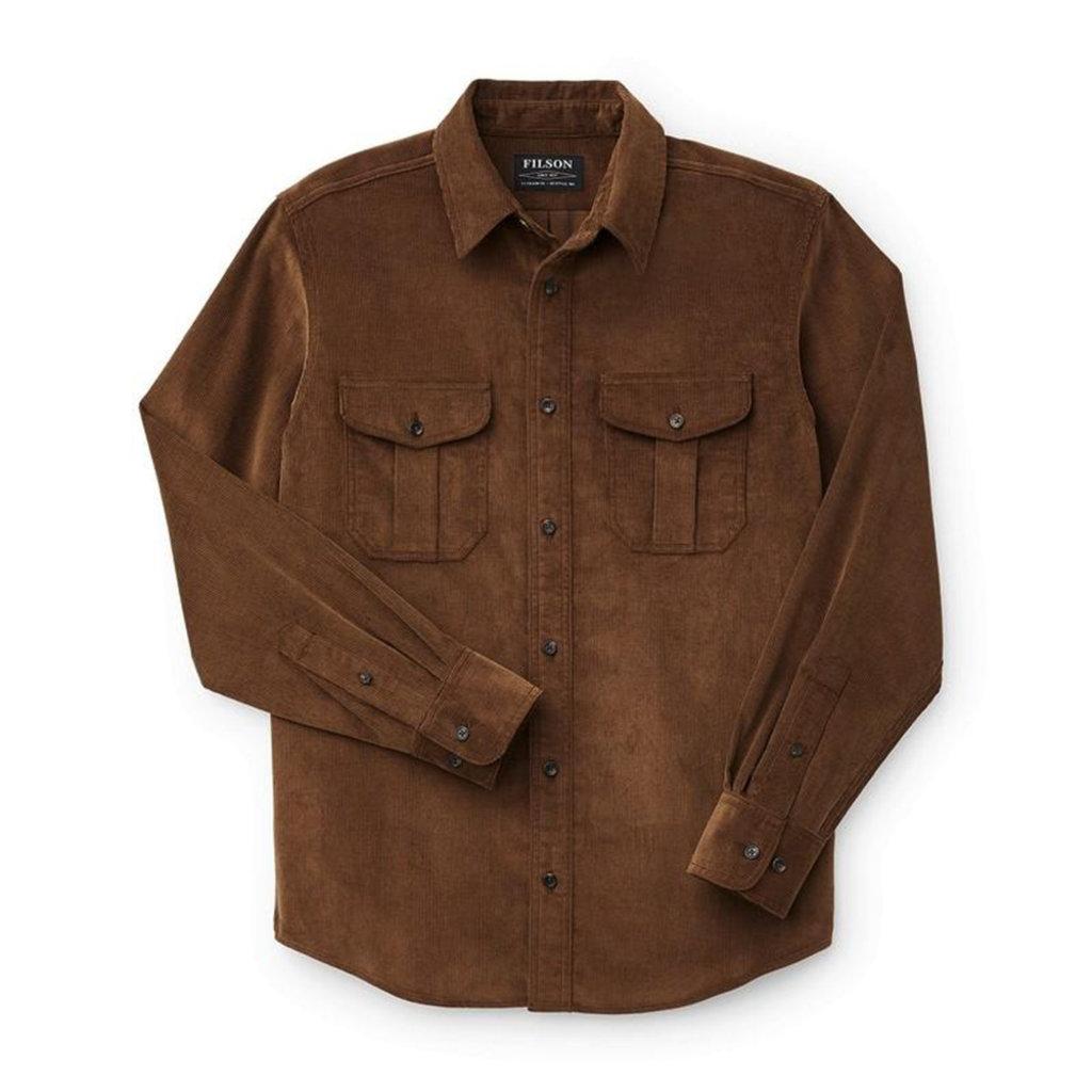 Filson Filson 11-Wale Corduroy Shirt Brown