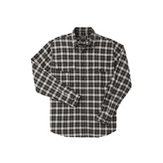 Filson Filson Lightweight Alaskan Guide Shirt Brown Heather / Light Khaki