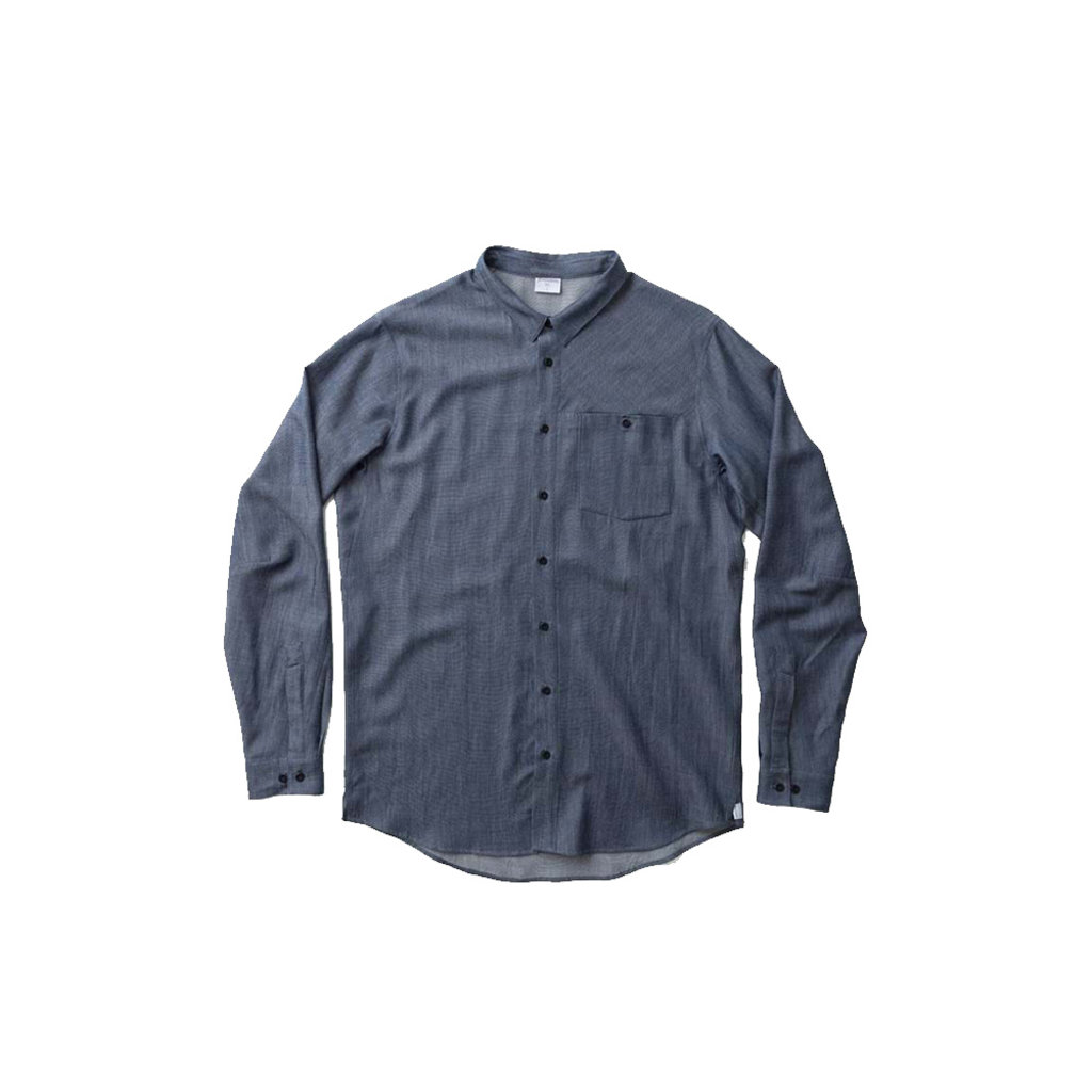 Houdini Houdini M's Out and About Shirt Blue Illusion