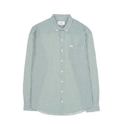 Makia Makia Brando Shirt Green White