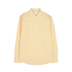 Makia Makia Brando Shirt Yellow White
