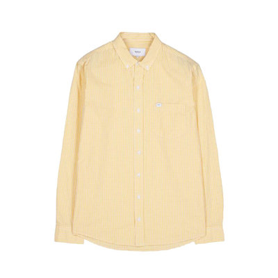 Makia Makia Brando Shirt Yellow White