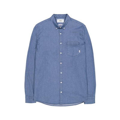 Makia Makia Archipelago Shirt Blue Wash