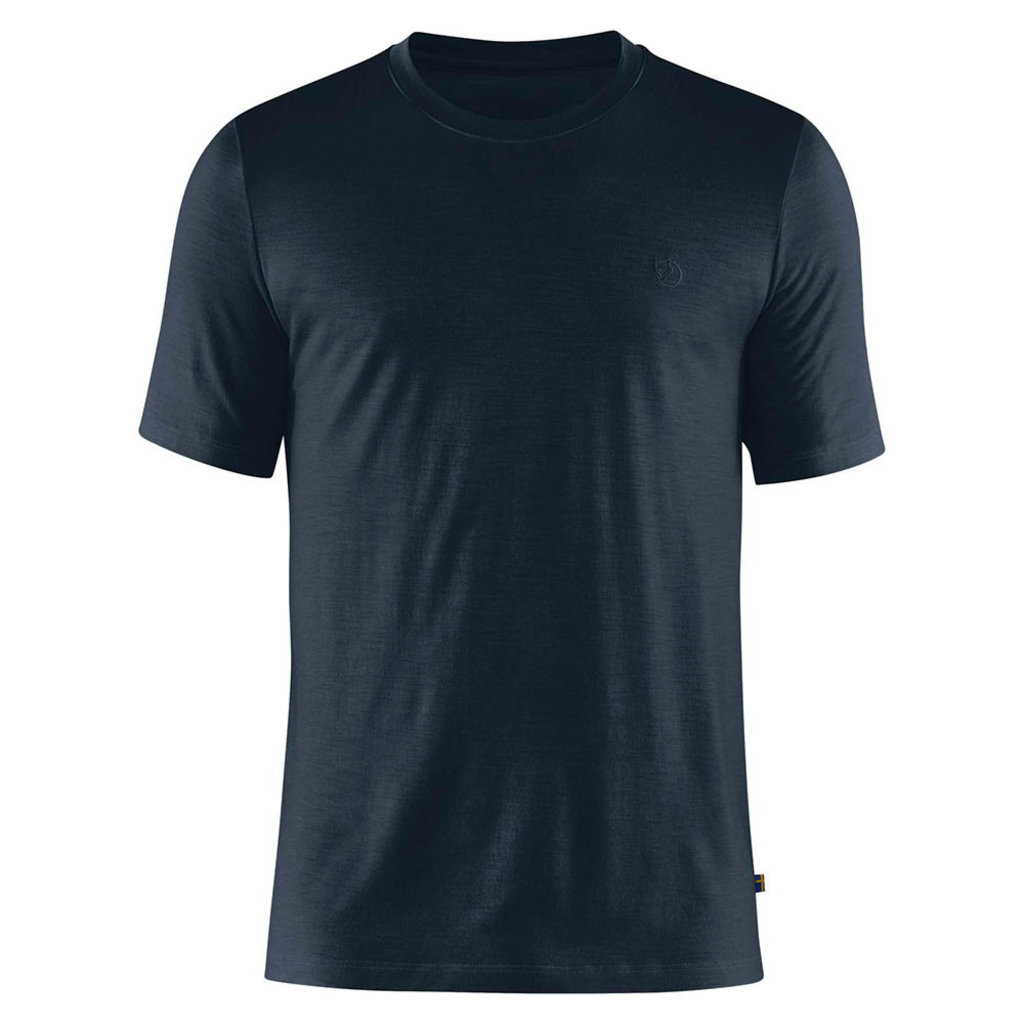 Fjallraven Fjallraven Abisko Wool SS T-Shirt Dark Navy
