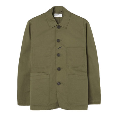 Universal Works Universal Works Bakers Jacket Light Olive