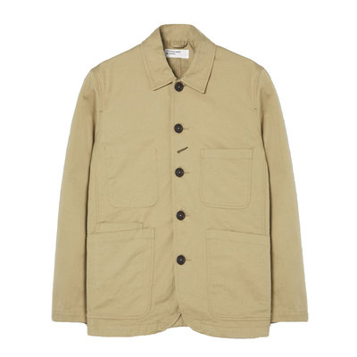 Universal Works Universal Works Bakers Jacket Sand