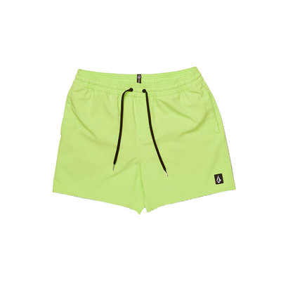 "Volcom Volcom Lido Trunks 16"" Neon Green"