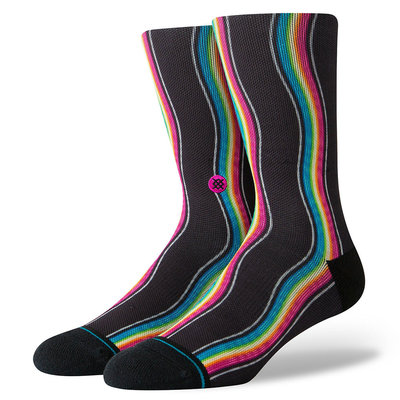 Stance Stance Rainbow Waves Multi