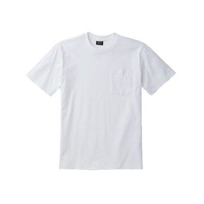 Filson Filson S/S Outfitter Solid One Pocket T-Shirt Bright White