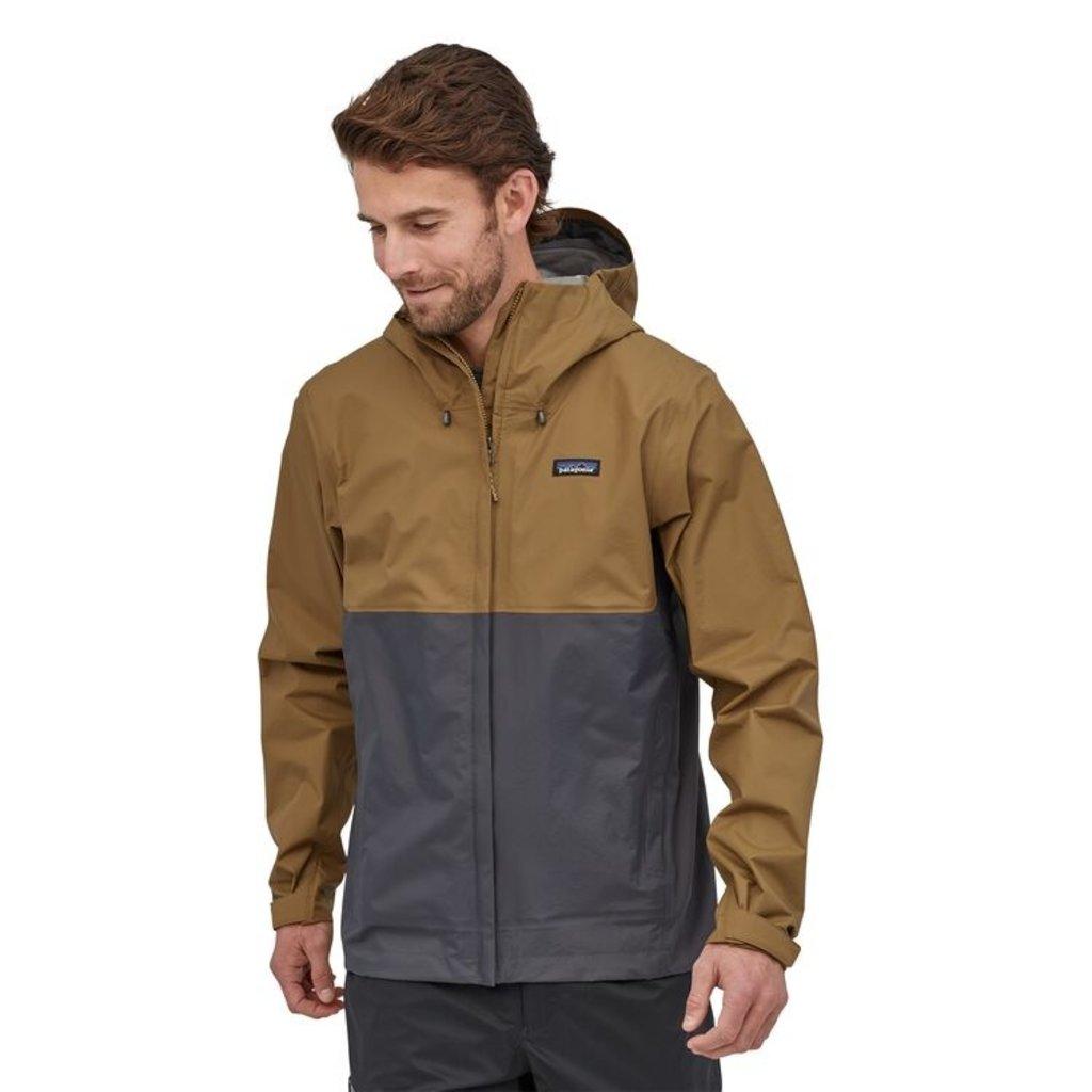 Patagonia Patagonia Mens Torrentshell 3 Layer Jacket Coriander Brown