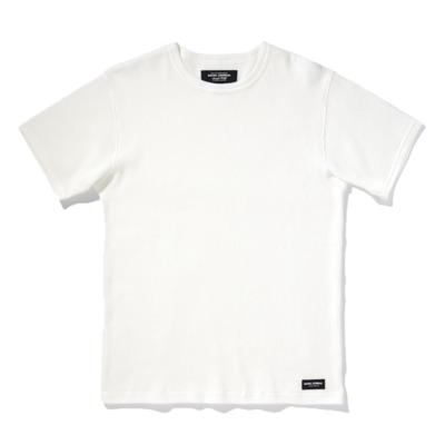 Banks Journal Banks Journal Jared Mell Waffle Tee Off White