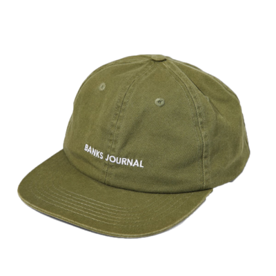 Banks Journal Banks Journal Label Hat Seaweed