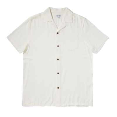 Banks Journal Banks Journal Nashua S/S Shirt Off White